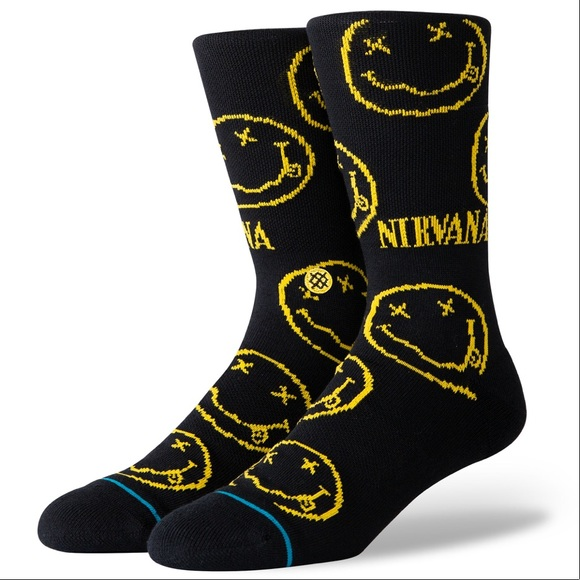 Stance Other - Stance Nirvana Face Crew Height Sock